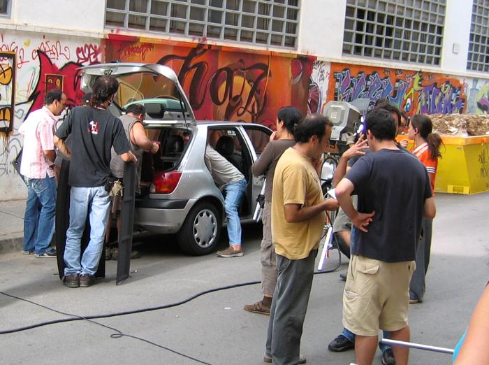 Tapas la pel cula kograffx studio for El mural trailer